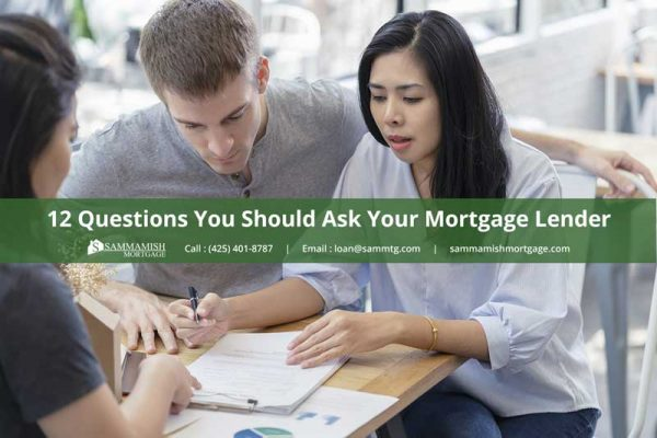 Questions You Should Ask Your Mortgage Lender