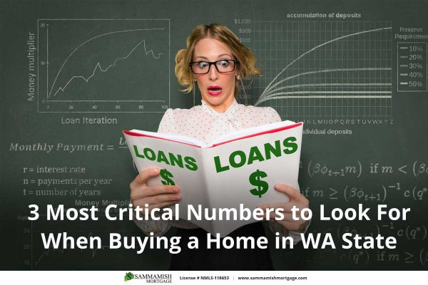 Most Critical Numbers to Look For When Buying a Home in Washington State
