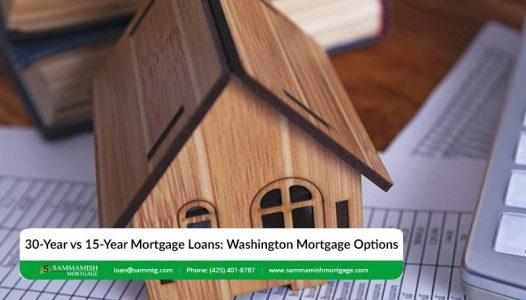 Year vs  Year Mortgage Loans Washington Mortgage Options