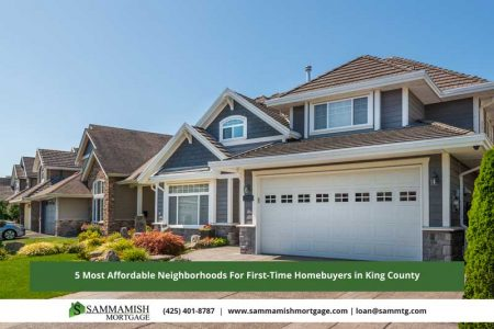 Most Affordable Neighborhoods For First Time Homebuyers in King County