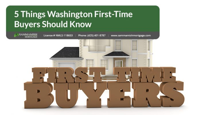 Things Washington First Time Buyers Should Know