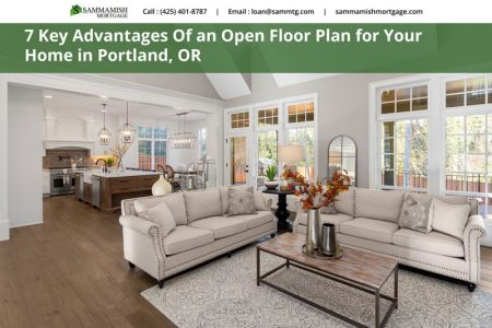 Key Advantages Of an Open Floor Plan for Your Home in Portland OR