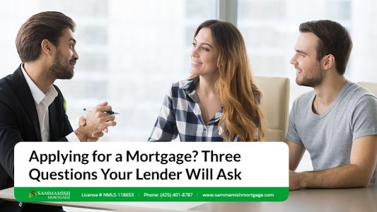 Applying for a Mortgage Three Questions Your Lender Will Ask