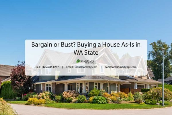 Bargain or Bust Buying a House in WA State