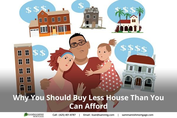 Buy Less House Than You Can Afford