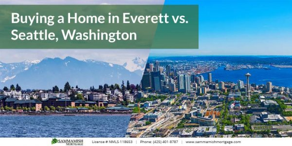 Buying a Home in Everett vs Seattle Washington