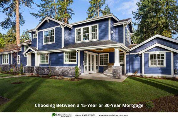 Choosing Between a  Year or  Year Mortgage