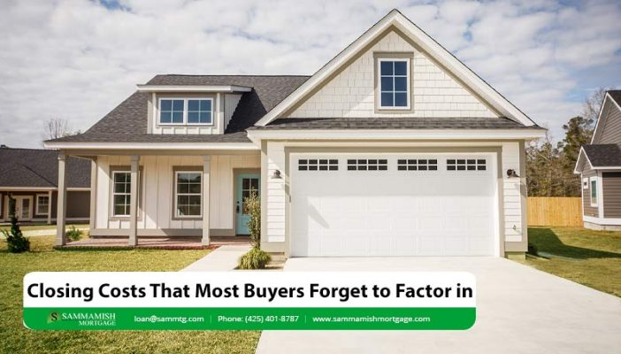 Closing Costs That Most Buyers Forget to Factor in