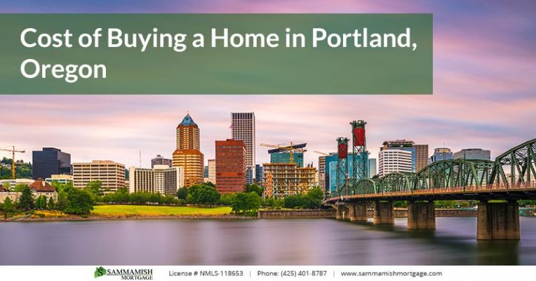 Cost of Buying a Home in Portland Oregon