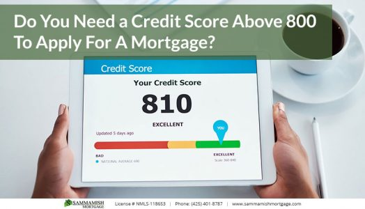 Do You Need a Credit Score Above  To Apply For A Mortgage