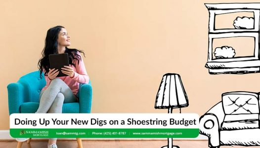 Doing Up Your New Digs on a Shoestring Budget