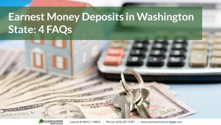 Earnest Money Deposits in Washington State  FAQs