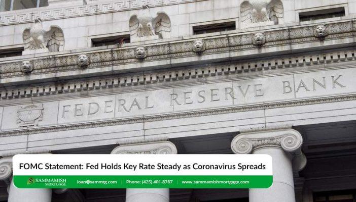 FOMC Statement Fed Holds Key Rate Steady as Coronavirus Spreads