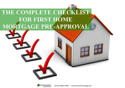First Home Mortgage Pre Approval Checklist
