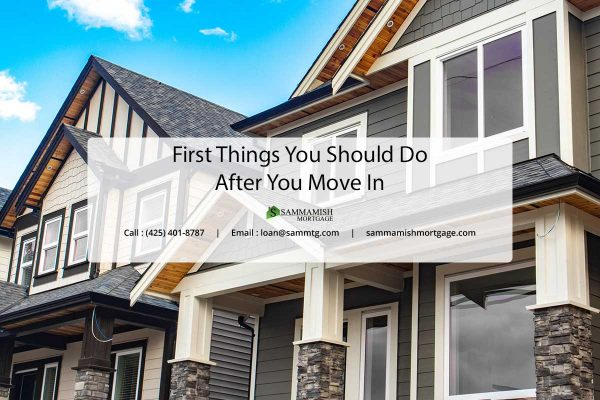 First Things You Should Do After You Move In