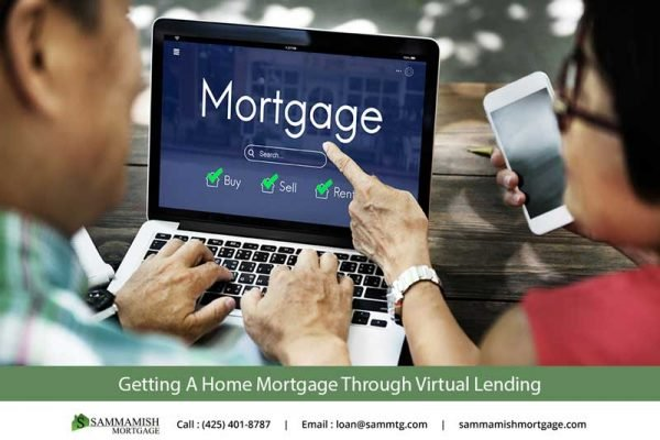 Getting A Home Mortgage Through Virtual Lending