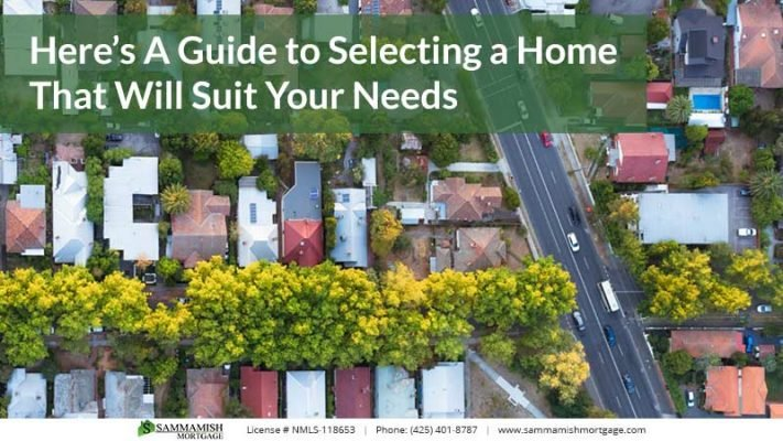 Heres A Guide to Selecting a Home That Will Suit Your Needs