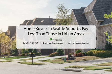 Home Buyers in Seattle Suburbs Pay Less Than Those in Urban Areas