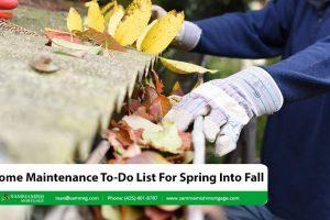 Home Maintenance To-Do List For Spring Into Fall