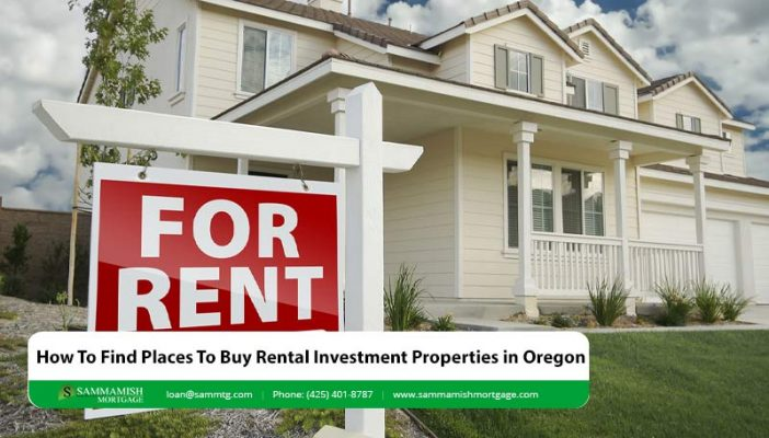 How To Find Places To Buy Rental Investment Properties in Oregon