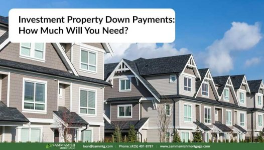 Investment Property Down Payments