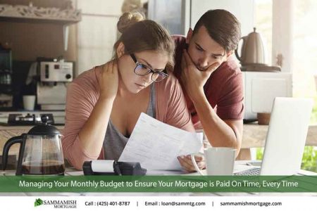 Managing Your Monthly Budget to Ensure Your Mortgage is Paid On Time Every Time