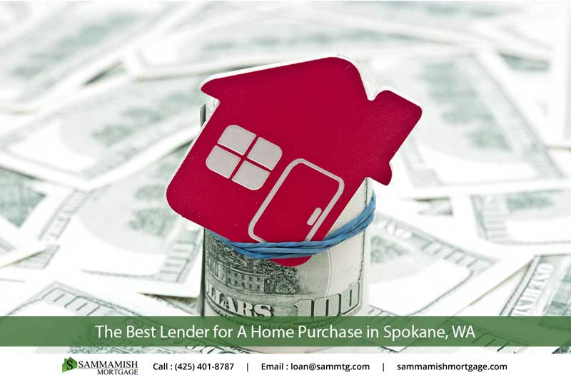 The Best Lender For A Home Purchase In Spokane, WA