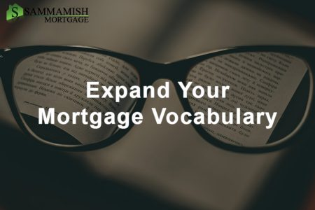 Mortgage Vocabulary