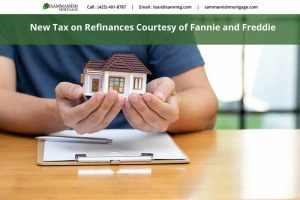 New Homeowners Fee for Refinancing Recently Dropped
