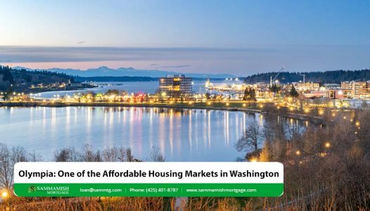 Olympia One of the Affordable Housing Markets in Washington