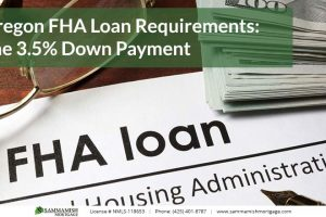 Oregon FHA Loan Requirements: The 3.5% Down Payment