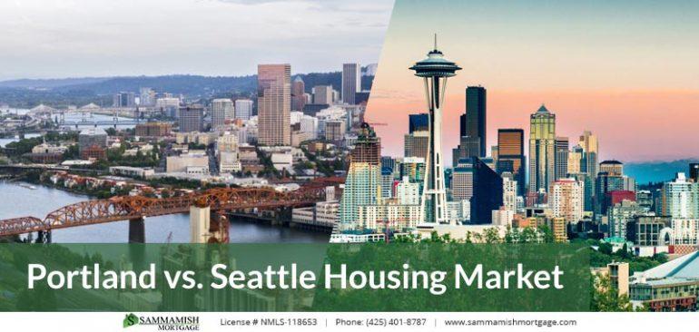 Portland vs Seattle Housing Market