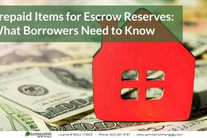 Prepaid Items for Escrow Reserves: What Borrowers Need to Know