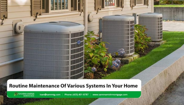 Routine Maintenance Of Various Systems In Your Home