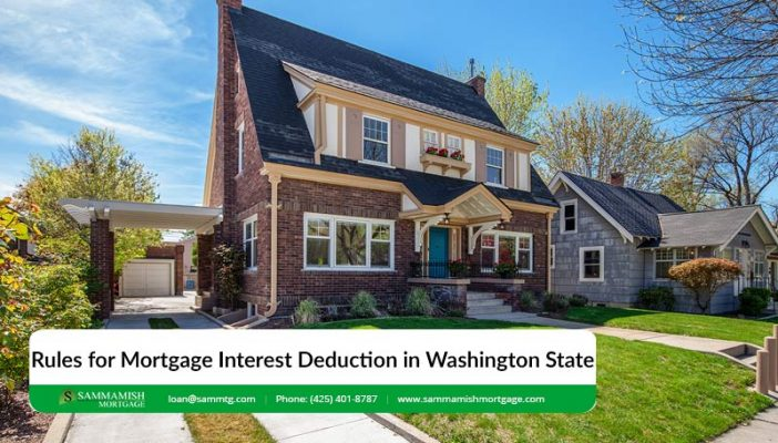 Rules for Mortgage Interest Deduction in Washington State