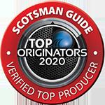 Scotsman Guide Top Oringator Logo