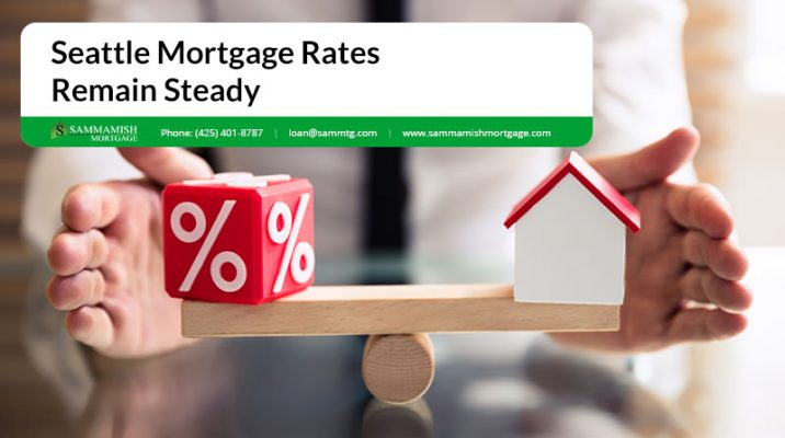 Seattle Mortgage Rates Remain Steady