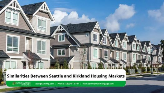 Similarities Between Seattle and Kirkland Housing Markets