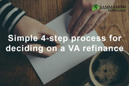 Simple  step VA refinance