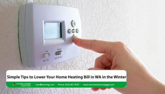 Simple Tips to Lower Your Home Heating Bill in WA in the Winter