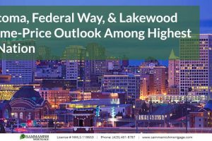 Tacoma, Federal Way, & Lakewood Home-Price Outlook Among Highest in Nation