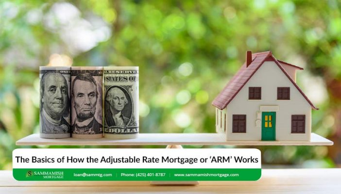 The Basics of How the Adjustable Rate Mortgage or 'ARM Works