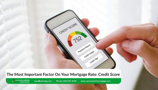 The Most Important Factor On Your Mortgage Rate Credit Score