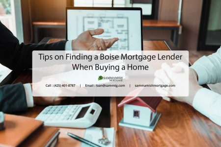 Tips on Finding a Boise Mortgage Lender When Buying a Home