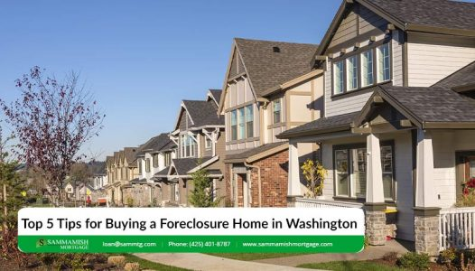 Top  Tips for Buying a Foreclosure Home in Washington