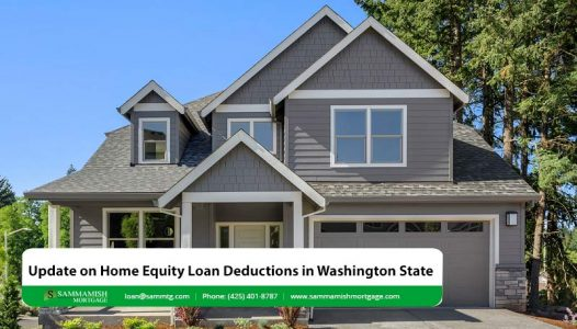 Update on Home Equity Loan Deductions in Washington State