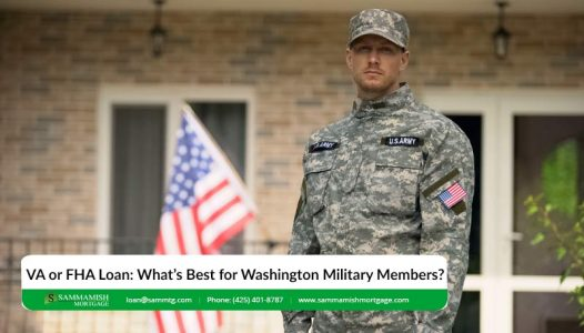 VA or FHA Loan Whats Best for Washington Military Members