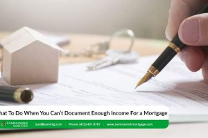 What To Do When You Can't Document Enough Income For a Mortgage
