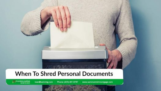 When To Shred Personal Documents