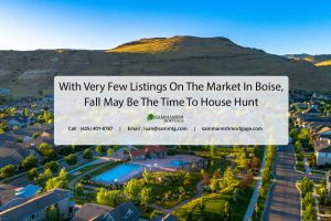 With Very Few Listings On The Market In Boise, Fall May Be The Time To House Hunt